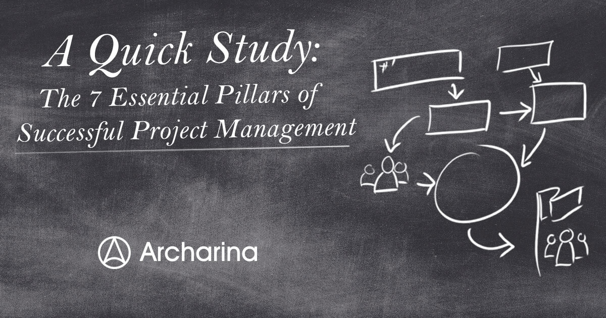 A quick study: The 7 essential pillars of successful project management